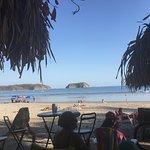 Samara Beach across from Kalimba
