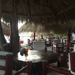 Drinks at Sunset on the beach at Locanda