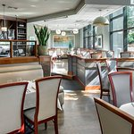 Cafe Nuovo Dining Room - Window Seating