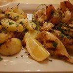 Calamari/Scampi vom grill