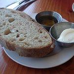 Bread was delicious.