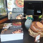 The chef's book.