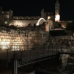 From the sound and light show of King David (no photos allowed)