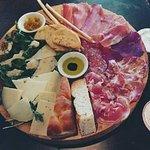 'Italia' board.
