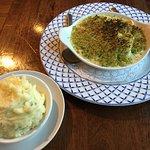 Fish pie and house mash
