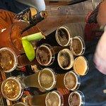 Enjoy a flight of beer!