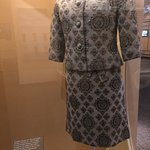 Jackie Kennedy's 1961 silk brocade outfit designed by Oleg Cassini