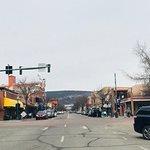 Historic Downtown Durango Foto