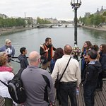So much to learn about Paris, we crossed over the river several times.