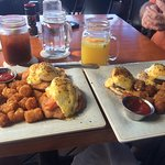 Our brunch and drinks
