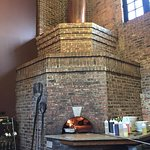 Deano's wood fired brick pizza oven,
