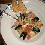 Seafood risoto
