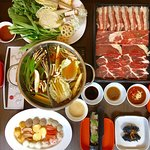 One of the best Shabu in town. Only $11.95 all you can eat with good selection of USA beef, fres