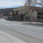 Main street of San Luis