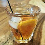 A delicious Old Fashioned at Urban Distillery.