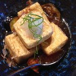 deep-fried tofu and eggplant