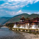The Historic Punakha Dzong that we visited
