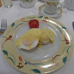 Egg Benedict, my favourite breakfast