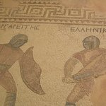 Gladiator mosaics