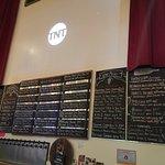 Good beer menu!
