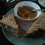 Soup and Double Decker