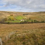 Distant view of Nethergill Farm