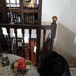 Le Stras' - Vue de la table à l'étage