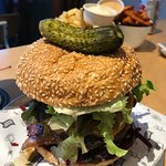 The Main Street Burger: More than a mouthful!