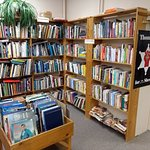 A small part of our non-fiction area