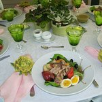 Spring Luncheon on the Porch