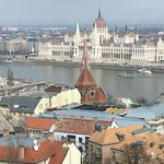 The city on both sides of Danube