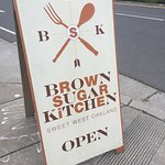 Sign Outside Brown Sugar Kitchen