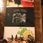 The Menu Front Cover