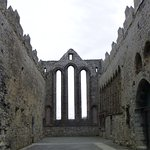 Tall window at front of Nave