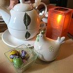 Ambiance Pacque, thé et le chocolat :)