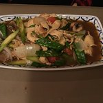 Pad Asparagus with Chicken