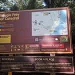 Camino a refugio Frey