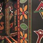 Malerei im Aufzug