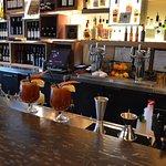 The bar at Raudz Regional Table