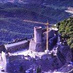 imagen del castillo a vista de pájaro