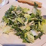 Caesar arugula salad