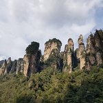 Wulingyuan Scenic and Historic Interest Area of Zhangjiajie Foto