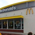 front of McDonald's