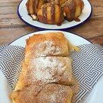 Delicious and Delectable Desserts 'Nutella Balls' and 'Filo Custard Pastry'