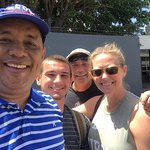 Leaving off my clients at Managua International Airport