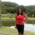 No lago lindo dentro do zoobotanico