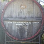 On the grounds of Pulenta Winery