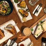 a table spread