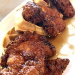 Chicken and Belgian Waffles