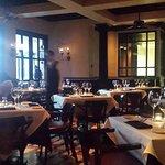 Dinning room in restaurant